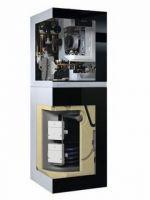 Schnittbild Gas-Brennwert-Kompaktheizzentrale